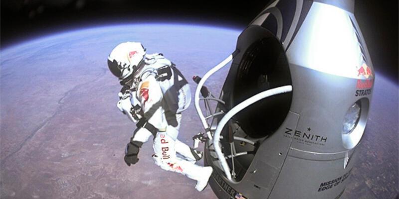 Uzaydan atlayış Red Bull'u kanatlandırdı