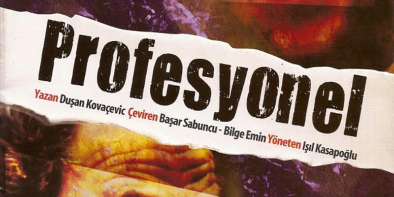 """Ödüllü tiyatro oyunu """"Profesyonel"""" İsveç'te"""