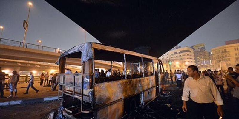 Mısır yine karıştı: 110 yaralı
