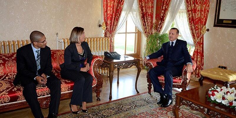 Erdoğan ile Alex buluştu