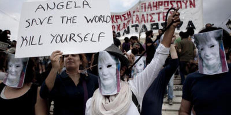 Merkel'den sonra Atina