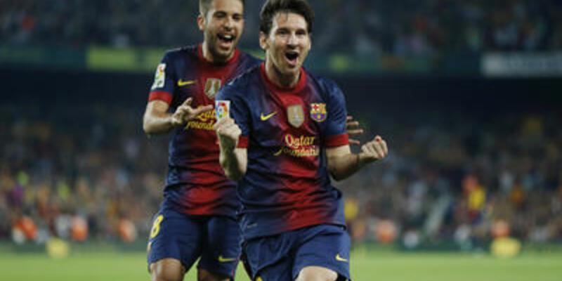 İki gol sonra Messi kral!