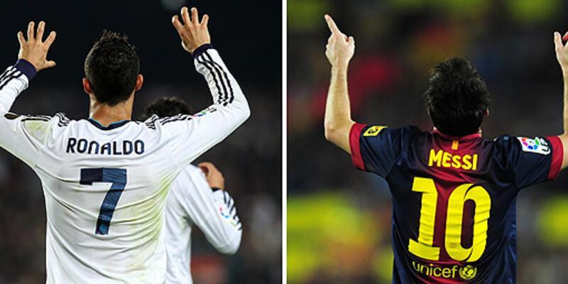 Messi-Ronaldo düellosu