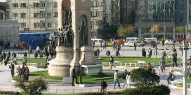 Taksim Meydanı trafiğe kapatıldı!