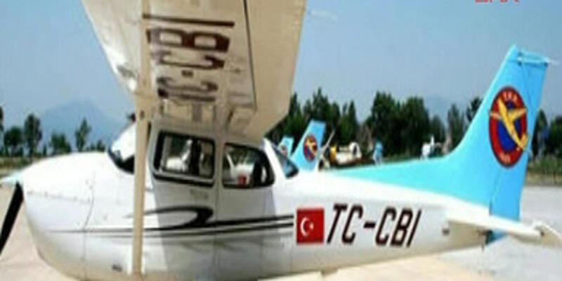 İzmir Ödemiş'te keşif uçağı düştü