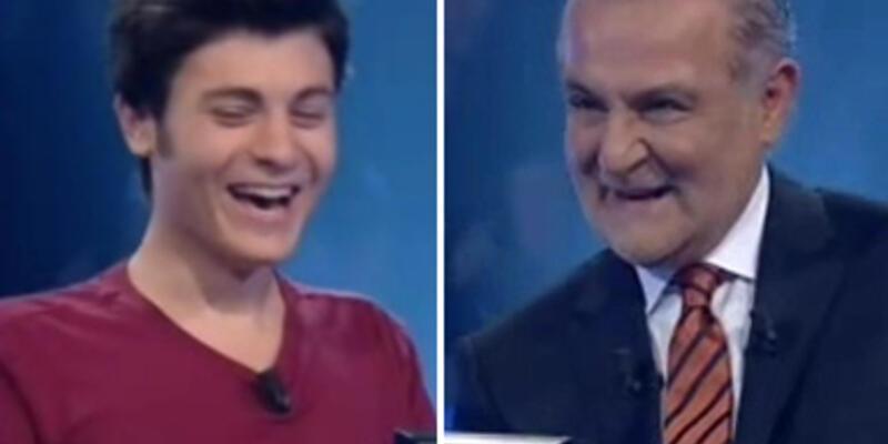 Sempatik yarışmacı Kenan Işık'ı gülme krizine soktu