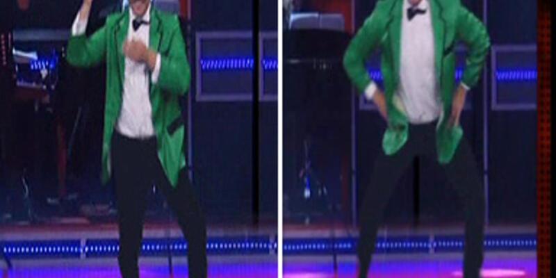 """Beyaz da """"Gangnam Style"""" dansı yaptı!"""