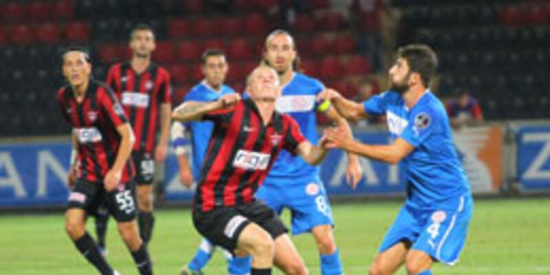 Antalyaspor'un Gaziantep vurgunu