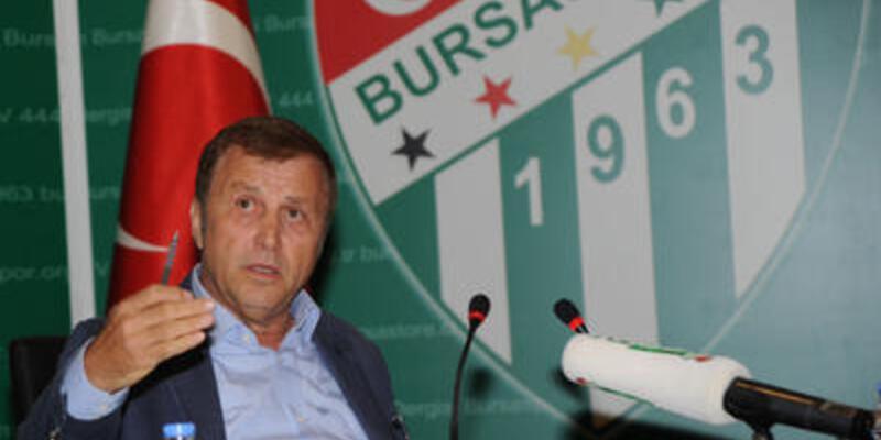 Bursaspor Başkanı'ndan sert çıkış