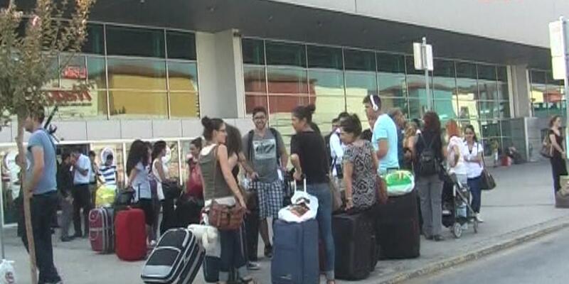 Bursa'daki otobüs termalinde kriz