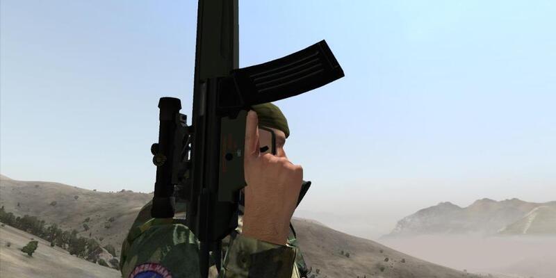 Türk ordusu modunda savaş simülasyonu