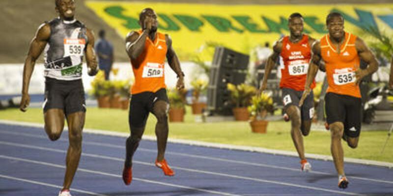 Blake ve Bolt bir kez daha yarışacak