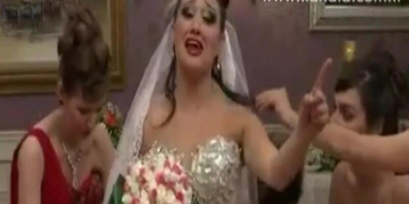 Nurhayat ile Rıza nikah masasında