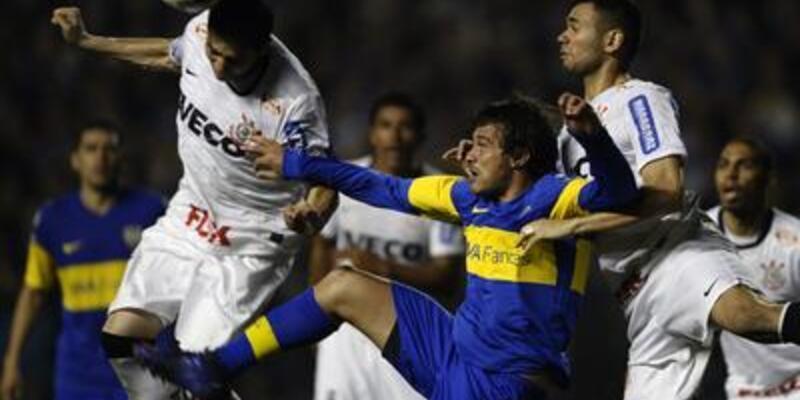 Libertadores'te avantaj Corinthians'ta