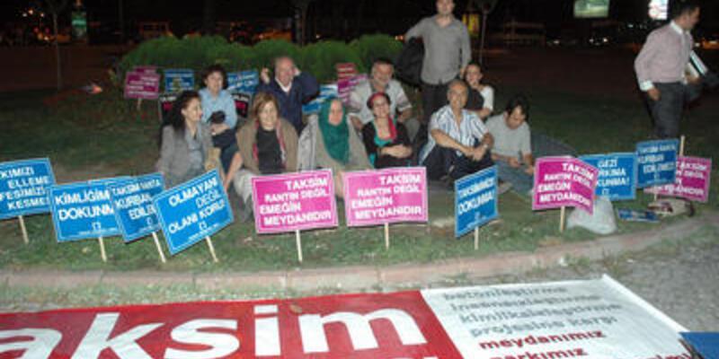 Taksim'de protesto!