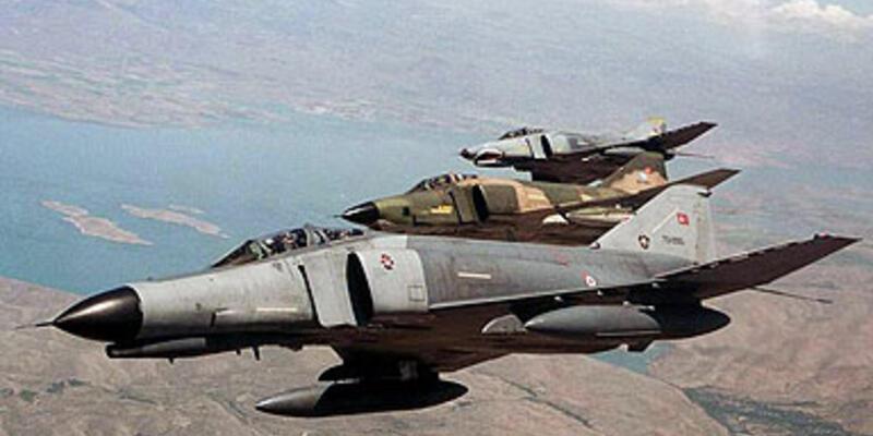 Savaş uçağını Suriye düşürmüş