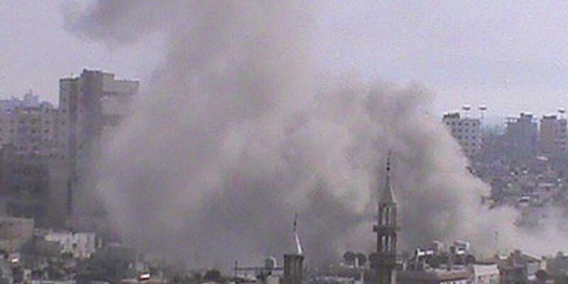 Suriye sınırında silah ve patlama sesleri