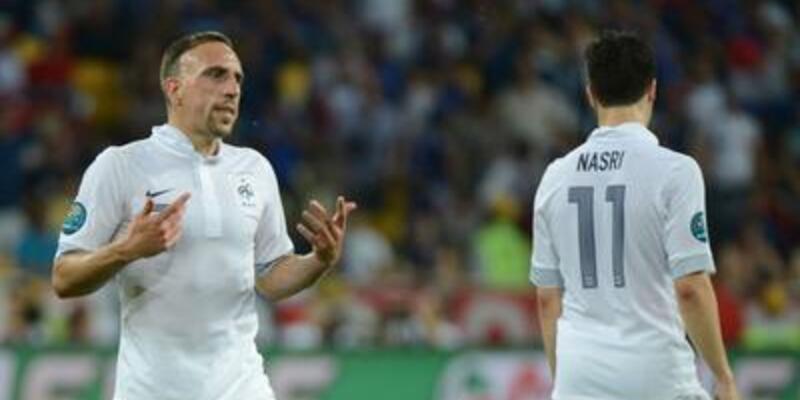 Nasri ve Ribery forma giyebilecek