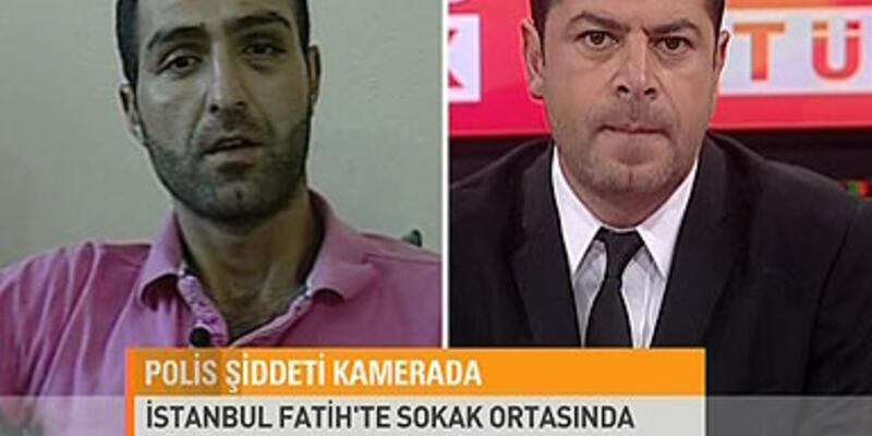 Polis vahşetini CNN TÜRK'e anlattı
