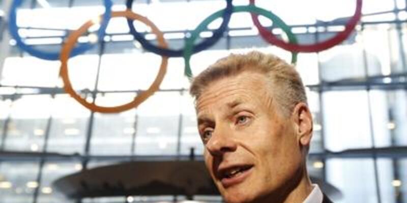 Olimpiyat halkaları Heathrow'da
