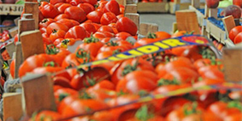 En çok domates yiyoruz