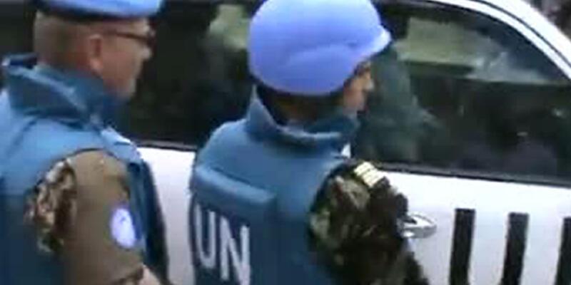 BM Gözlemcileri, Suriye'deki faaliyetlerini askıya aldı