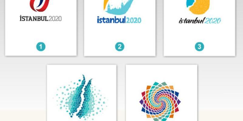 İstanbul 2020 Olimpiyat logosunu seçiyoruz