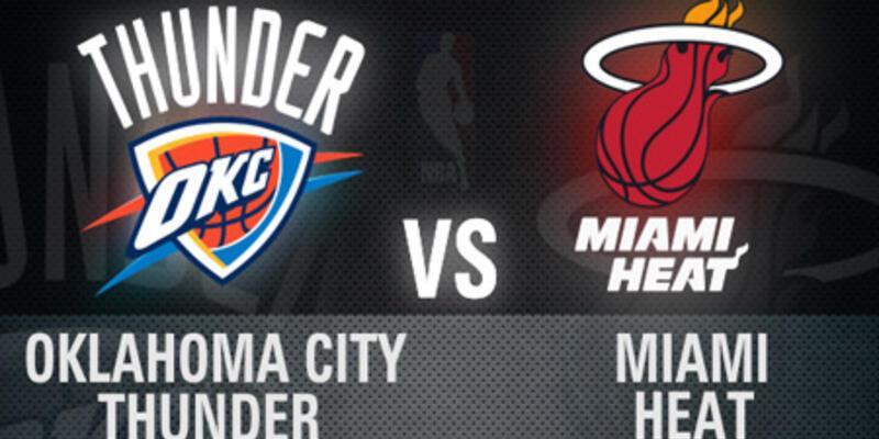 Oklahoma - Miami finali 5. maçı CNN TÜRK'te