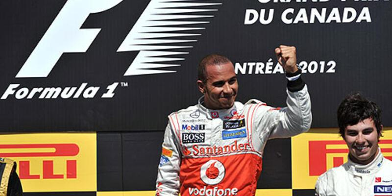 Formula 1'in galibi Lewis Hamilton