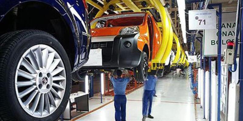 Otomotiv sektöründe üretim geriledi