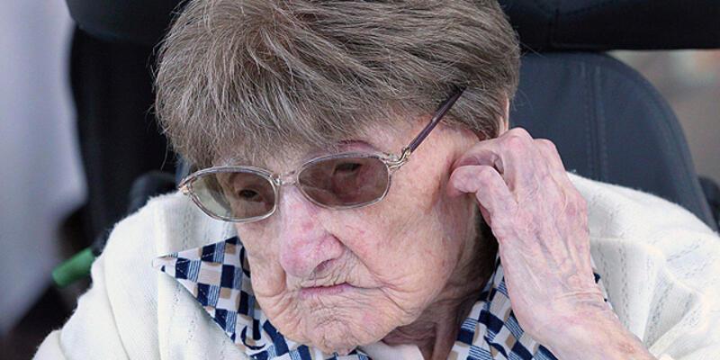 Avrupa'nın en yaşlı kadını öldü