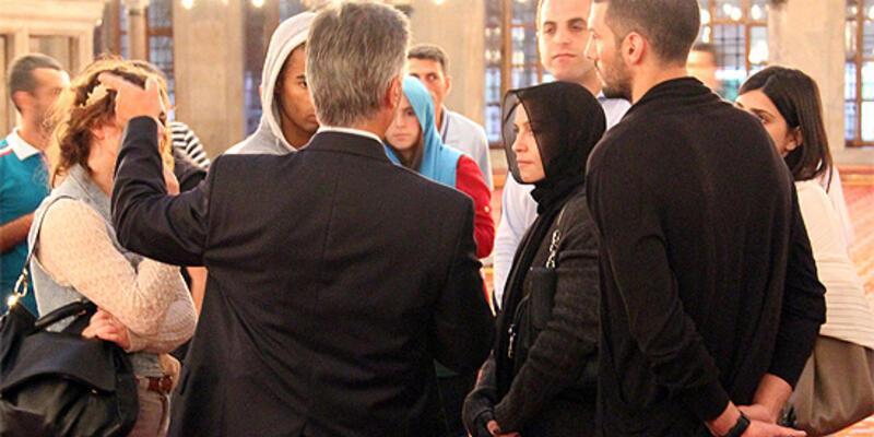 Madonna, Ayasofya ile Sultanahmet'i gezdi
