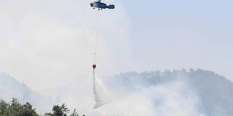 Türkiye-Suriye sınırındaki yangın kontrol altında