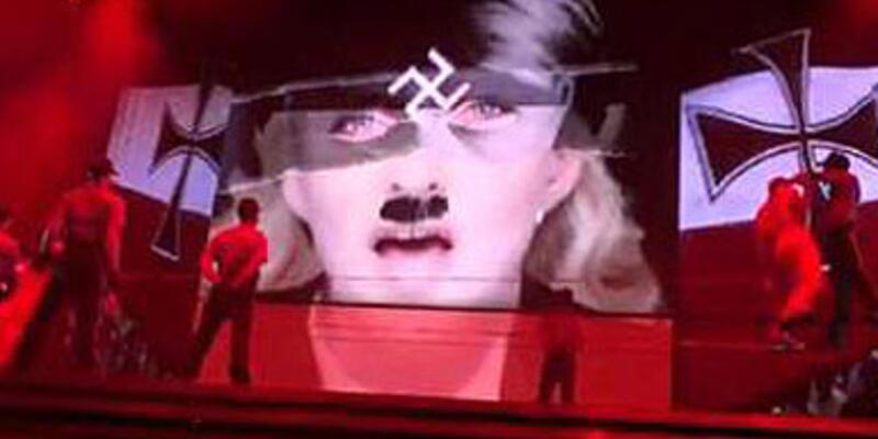Madonna Le Pen'i fena kızdırdı!