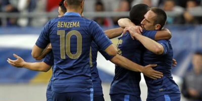 Fransa'dan 5 dakikalık maç