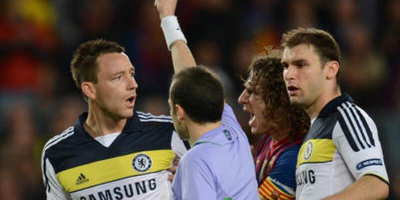 UEFA'dan Terry'ye 3 maç ceza