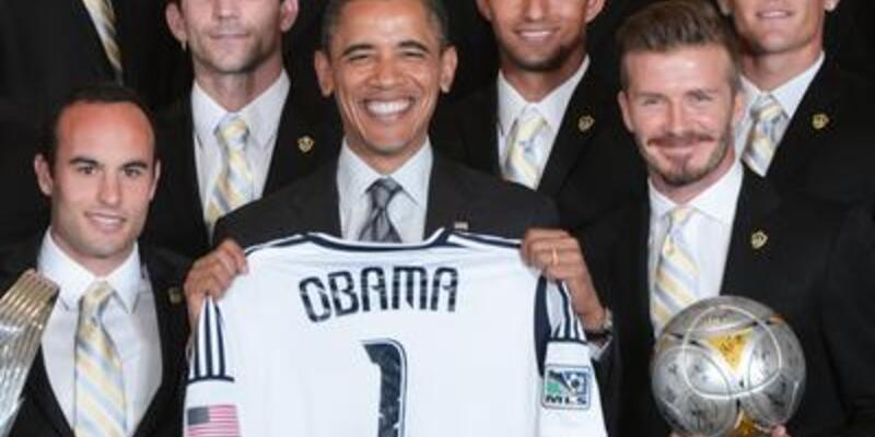 Obama'dan Beckham esprileri