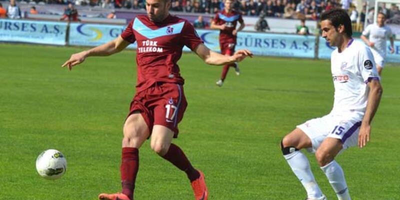 Orduspor-Trabzonspor berabere kaldı