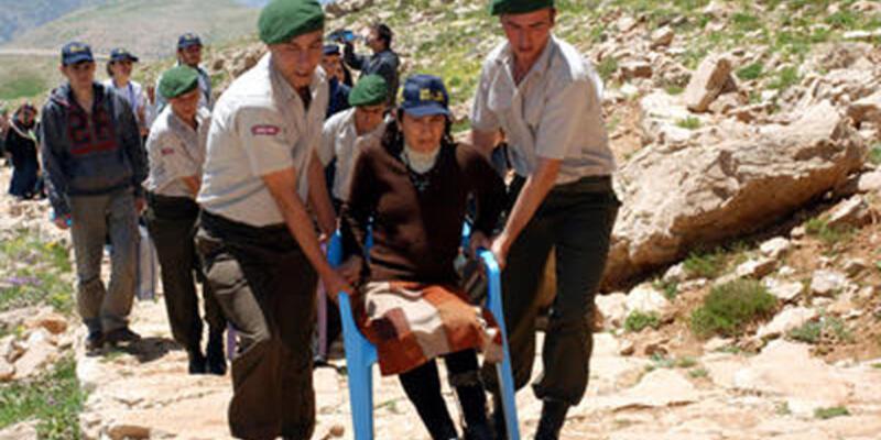 Nemrut Dağı'da raylı sistemle yolculuk başlıyor
