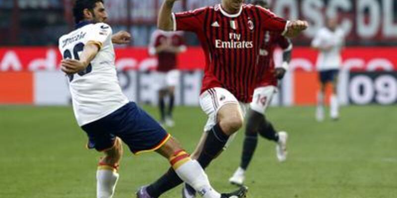 Milan'ın Lecce keyfi: 2-0