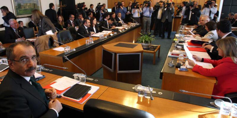 Komisyon toplantısında yumruklar konuştu