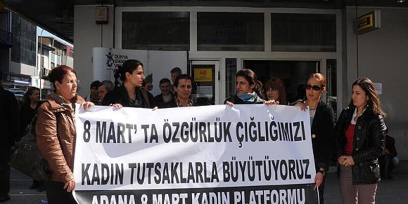 Kadın mahkumlara taciz iddiası