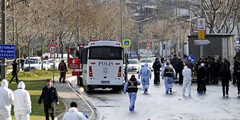 AK Parti İl Başkanlığı yakınında patlama