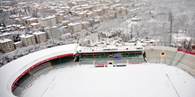 Türkiye - Slovakya maçı kar tehdidi altında