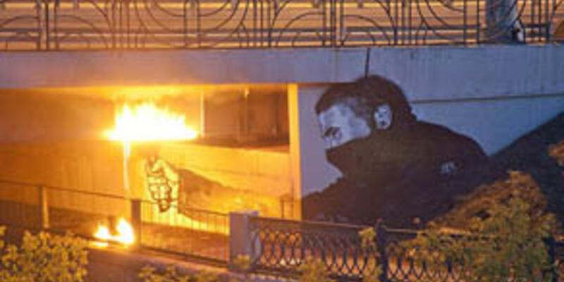"Bu da ""Rus Banksy"""