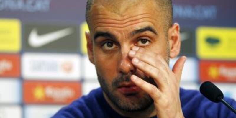 """Guardiola: """"La Liga'da şampiyon olamayız"""""""