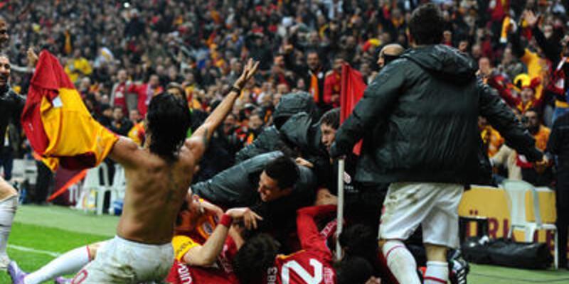 Galatasaray play-off'u garantiledi