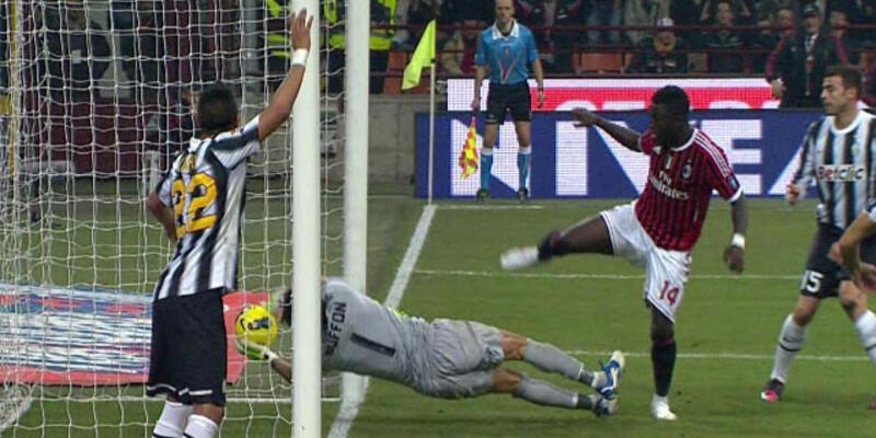 Juventus 83. dakikada kefeni yırttı