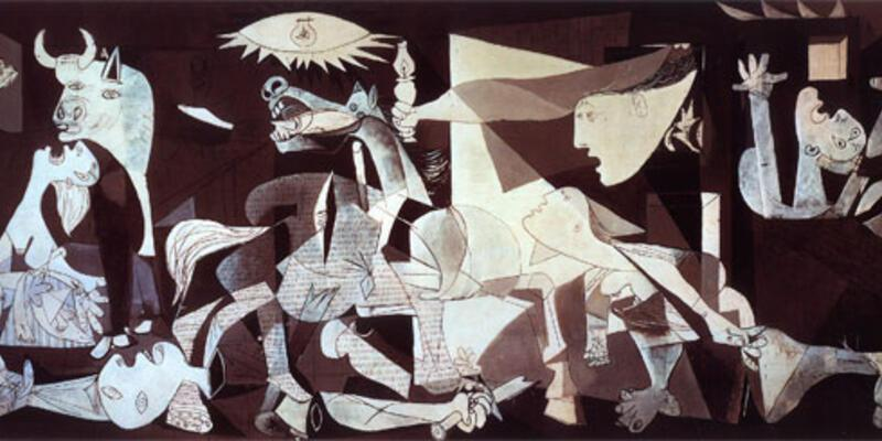 "Picasso'nun 75'lik Guernica'sına ""check-up"""