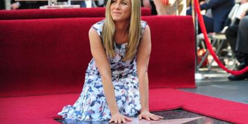 """Jennifer Aniston da """"yıldız""""landı"""